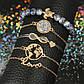 Набор женских браслетов с подвесками код 1579, фото 10