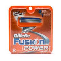 Сменные кассеты для бритья Gillette Fusion Power 8шт. в упаковке