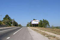 Бигборды трасса Ялта-Севастополь 71км+250м ресторан Шайба (на Севастополь)