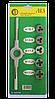 Набор плашек М4-М10 (6 предметів)