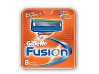Сменные кассеты для бритья Gillette Fusion 8шт. в упаковке