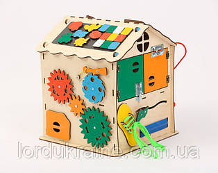 Развивающая игрушка Бизидомик   Игры на логику   Логические игры   Развивающие игрушки   Деревянные игрушки