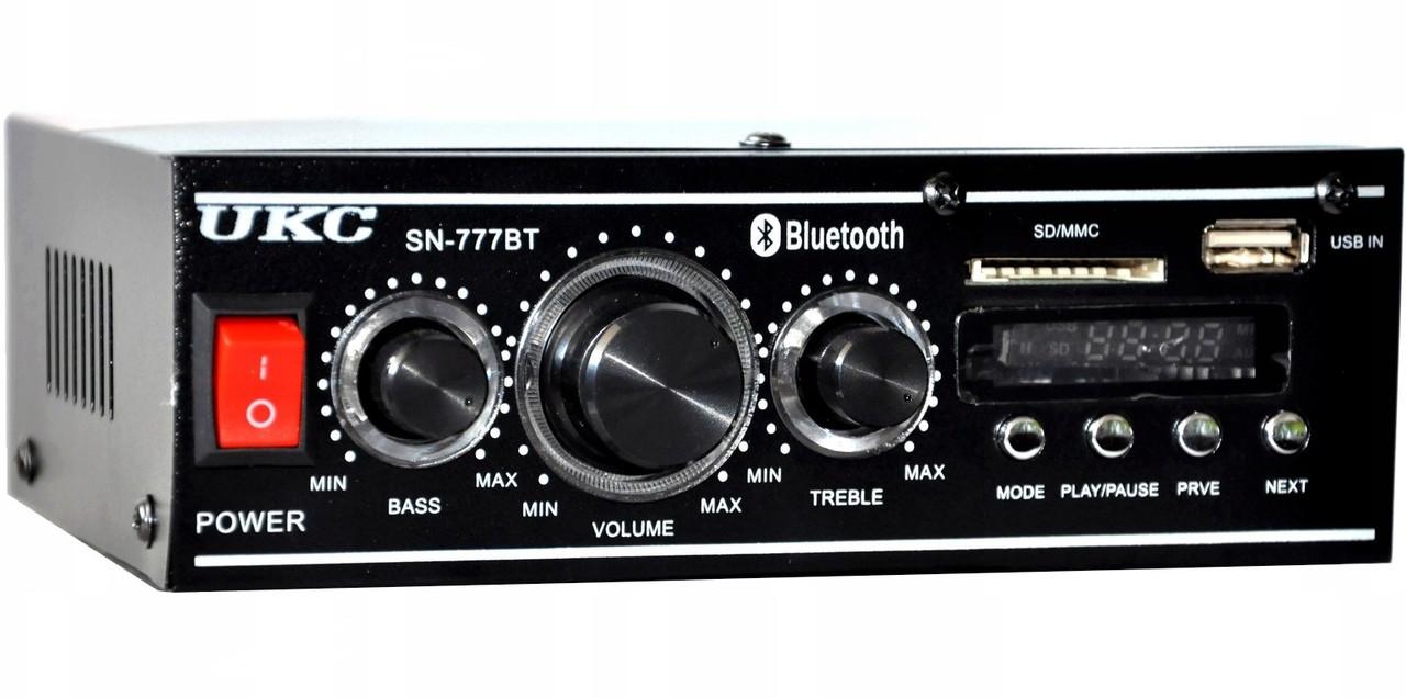 Усилитель UKC SN-777BT караоке Bluetooth