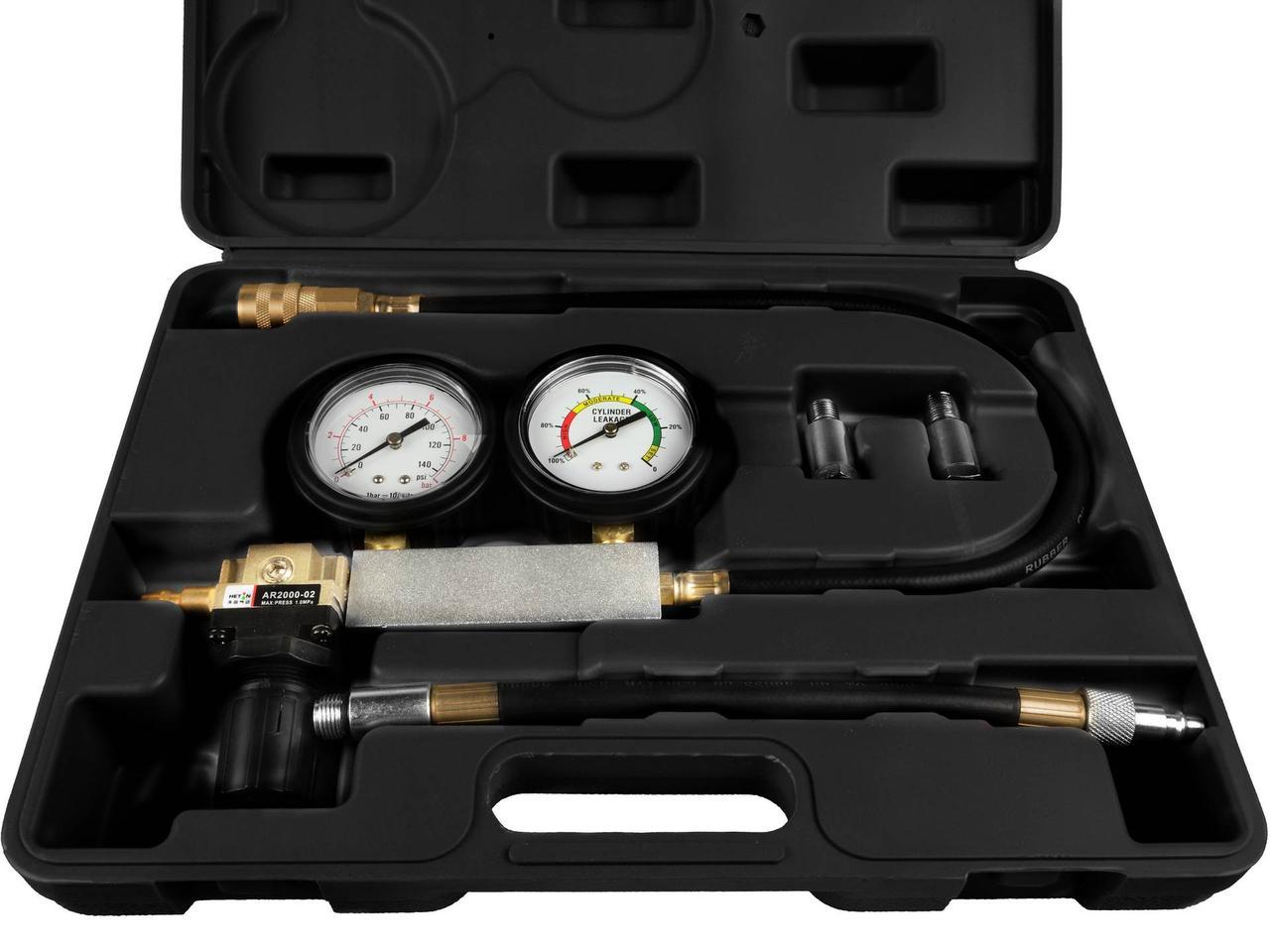 Тестер герметичності циліндра (бенз.двигуна), 8пр. GEKO G02735
