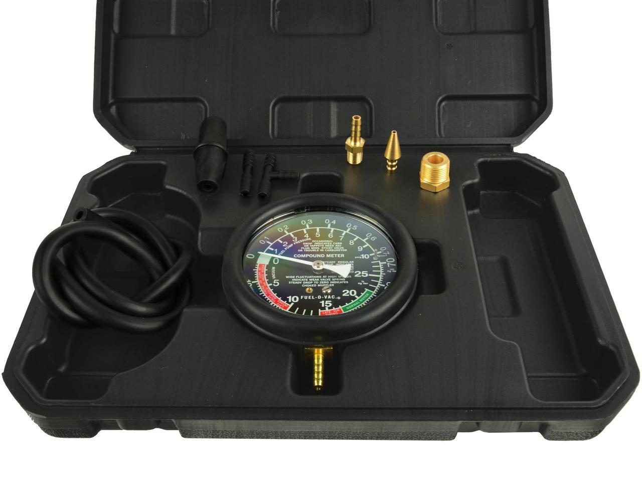 Тестер тиску (вакуумметр) GEKO G02508