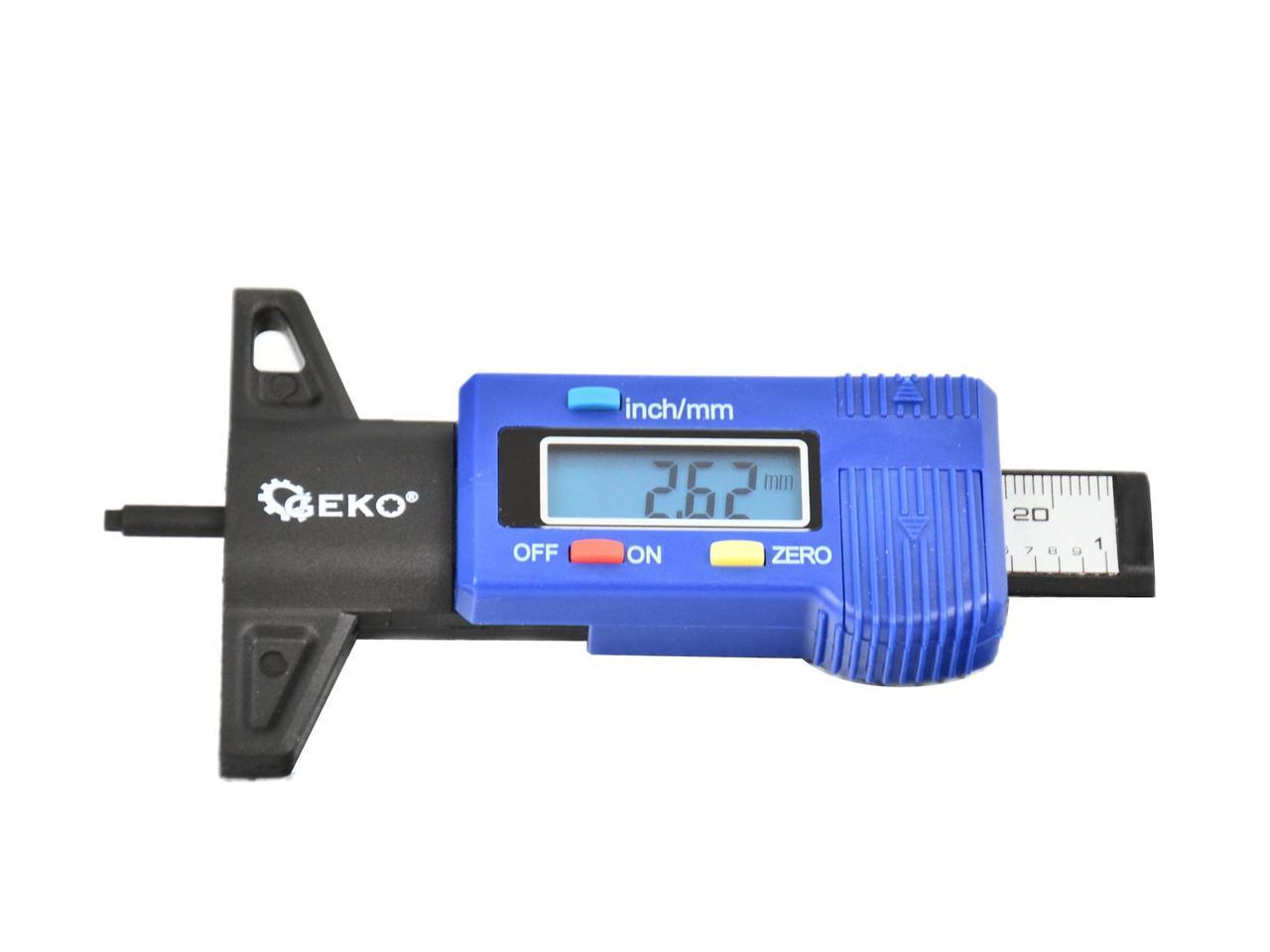 Цифровой измеритель износа шин GEKO G01269
