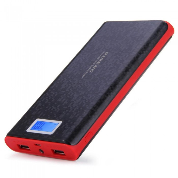 Портативний зарядний пристрій Pineng PN-920 Power Bank 40000 mah з LCD дисплеєм, екран