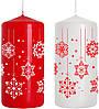 Упаковка новогодних декоративных свечей BISPOL №SW50/100-499D-02