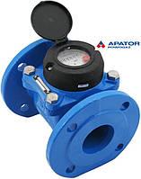 Водосчетчик MWN-65-NK (ХВ) с импульсным выходом турбинный сухоход (DN65) промышленный Apator PoWoGaz