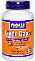 Ливер Капс, Now Foods, Liver Caps, 100 caps