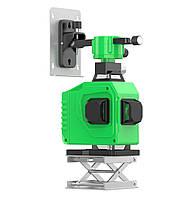 Лазерный уровень нивелир 4D 16 линий Зеленый луч + ПУЛЬТ