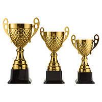 Кубок для соревнований металический 25 см 4088D