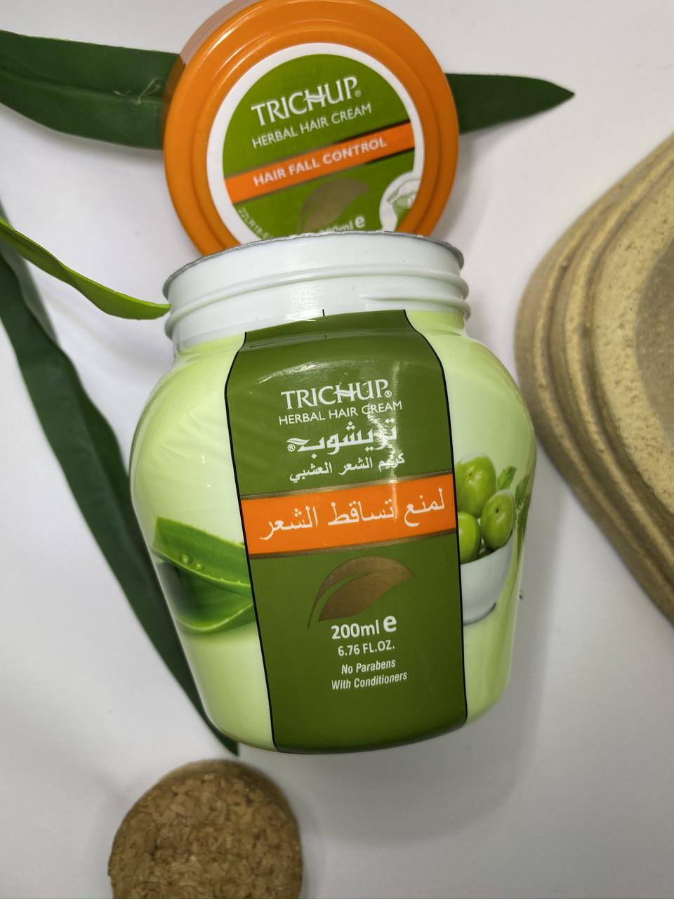 Травяной индийский   крем- маска  для роста  волос Trichup fall control   с Амлой 200  мл