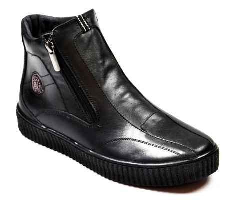 Ботинки для мальчика демисезонные из натуральной кожи Bistfor