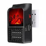 Обогреватель 900w 440в flame heater, фото 2