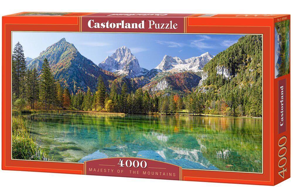 """Игрушка-Пазл Castorland """"4000"""" пейзаж Величие гор (C-400065)"""