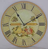 Настінні кварцові годинники МДФ