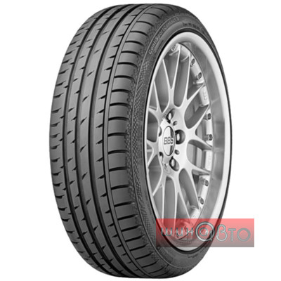 Continental ContiSportContact 3 245/45 R19 98W SSR *