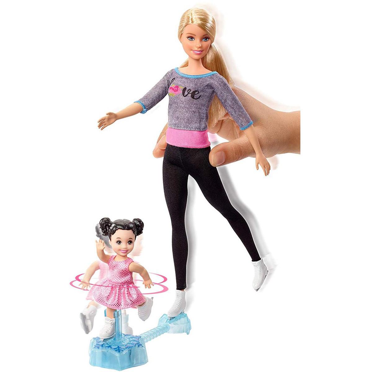 Кукла Барби Тренер по фигурному катанию Barbie You can be Ice Skating Coach