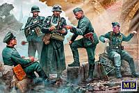 1:35 Немецкие военнослужащие, Master Box 35211;[UA]:1:35 Немецкие военнослужащие, Master Box 35211