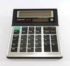 Калькулятор бухгалтерский большой настольный COKTA CT612C