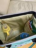 Сумка - рюкзак для мам Mommybaby/Мами бэйби  ->  бирюзовый цвет, фото 6