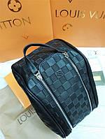 Мужская сумка несессер Louis Vuitton черная