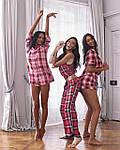 Женские домашние штаны Victoria's Secret art448702 (Красный, размер L), фото 6