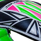 Вратарские перчатки SportVida SV-PA0002 размер 5. Футбольные перчатки зеленые, перчатки для футбола, фото 2