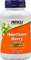 Боярышник экстракт для здорового сердца, Now Foods, Hawthorn Berry, 300 mg, 90 Veggie Caps