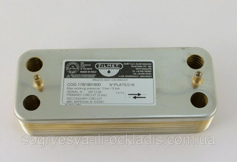 Вторинний теплообмінник для котла