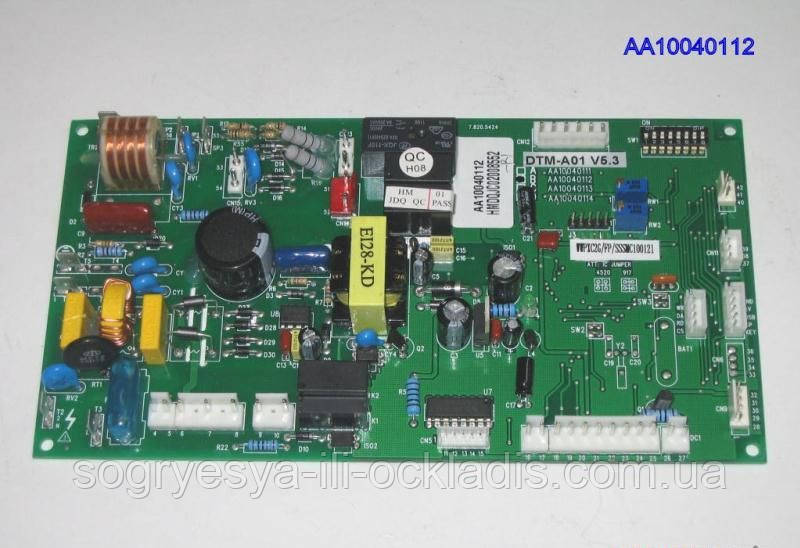 Плата осн.упр. DTM-A01 V5.3/ 5.4 (без фир.уп, Китай) Zoom Master Boiler BF турбо, арт. AA10040112, к.з.0712/3