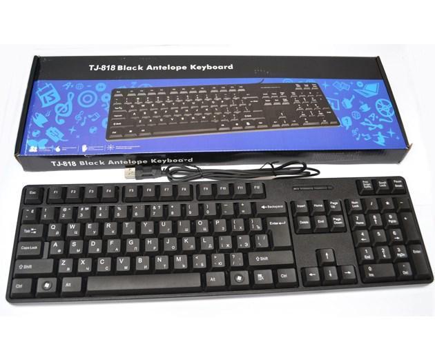 Дротова клавіатура Antelope TJ-818 для пк