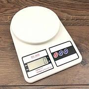Весы кухонные электронные для кухни еды Electronic Kitchen Scale настольные пищевые продуктов кондитерские