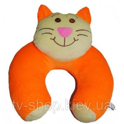 Подушка по голову Кот