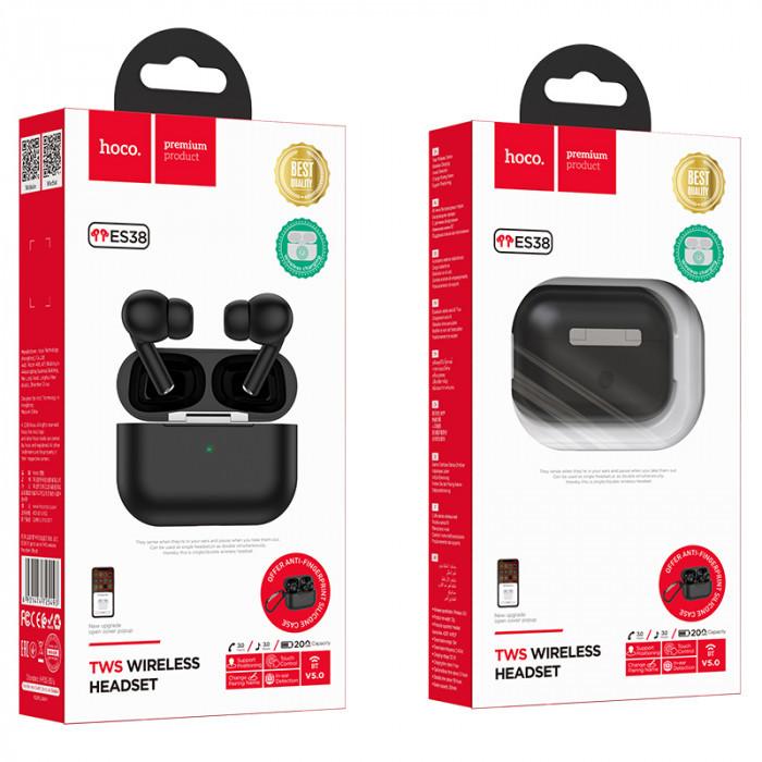 Наушники Bluetooth Hoco ES38 TWS Original series black