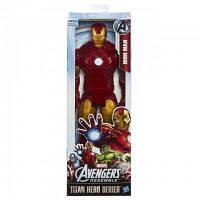 Большая игрушка Железный Человек, Мстители 30 см, серия Титаны, Iron Man, Avengers, Titan, Hasbro SKL14-156178