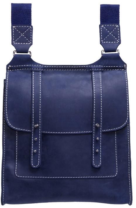 Кожаная сумка Black Brier C-1-97 темно-синий