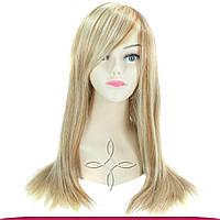 Парик из натуральных волос 50-55 см 180 грамм, Мелированный №12/613