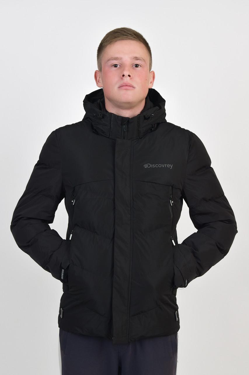 Чоловіча демісезонна куртка з капюшоном