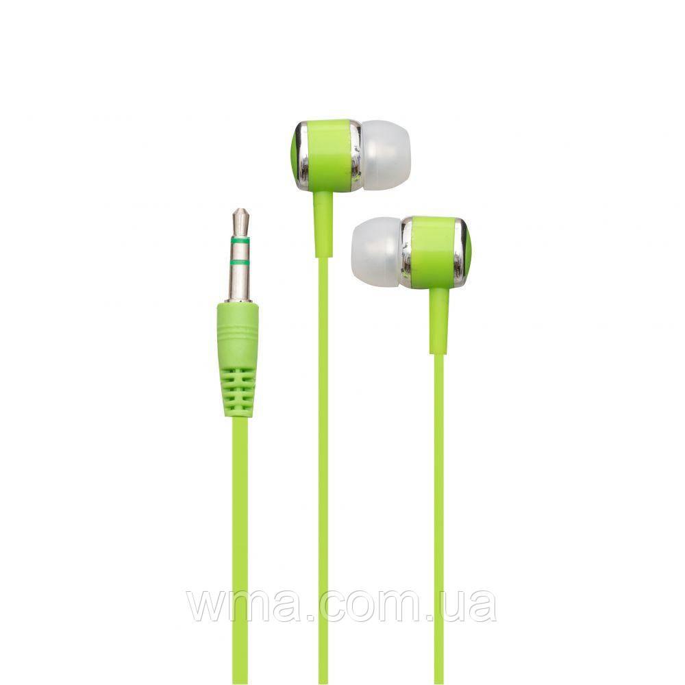 Проводные наушники для телефона i-Koson i-680 MP3 Цвет Зелёный