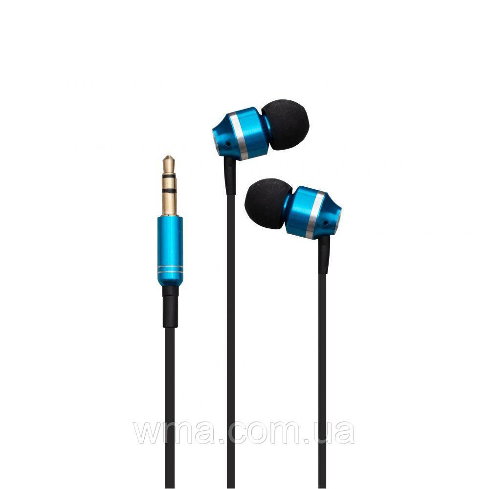 Проводные наушники для телефона Deepbass DB-959 Цвет E4, Синий