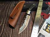 Охотничий нож ручной роботы MAD BULL B09, фото 2