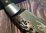 Охотничий нож ручной роботы MAD BULL B09, фото 3