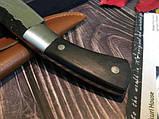 Охотничий нож ручной роботы MAD BULL B09, фото 6