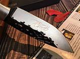 Охотничий нож ручной роботы MAD BULL B09, фото 7