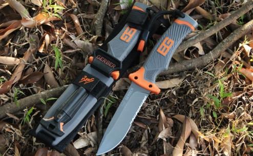 Нож Gerber Bear Grylls Ultimate Pro Fixed Blade с огнивом туристический для выживания