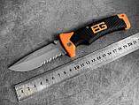 Нож в чехле Bear Grylls Folding Sheath Knife, фото 4