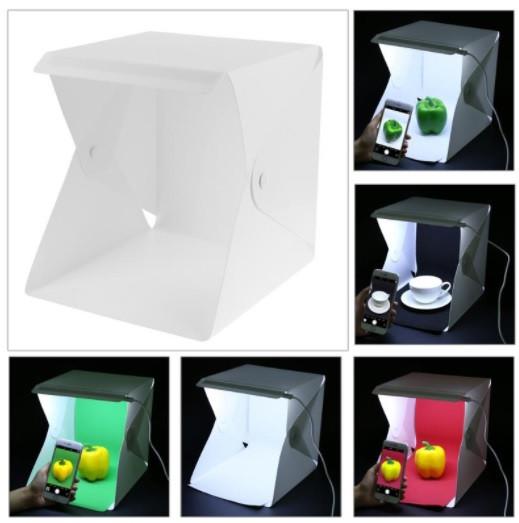 Фотобокс – лайтбокс с 2 LED подсветками 24*22см