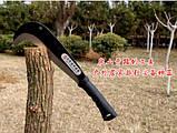 Секач,садовый нож для обрубки сучьев DeWit мачете, фото 4